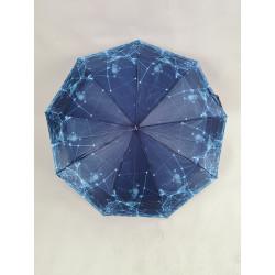 Женский зонт полуавтомат, 9 спиц