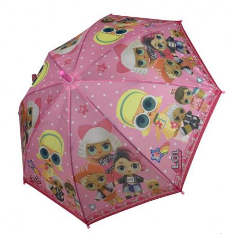 """Детский зонт-трость, полуавтомат """"lol"""""""
