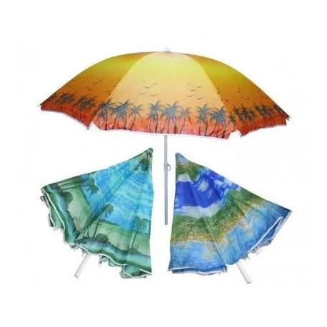 Пляжный Зонт 100M 2м, Спицы Системы Ромашка, С Наклоном И Напылением (ЦЕНА ЗА ЯЩИК)
